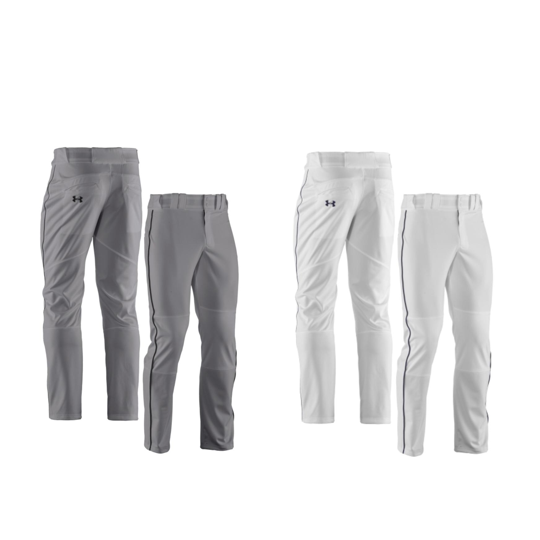 gray under armour baseball pants